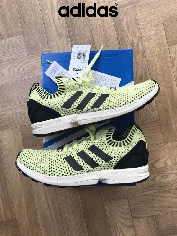 2018 Scarpe Adidas - Adidas Zx Flux Pk Uk Taglia Faddish New 105 £ 95 Rrp Boxed Bfkmqz2578