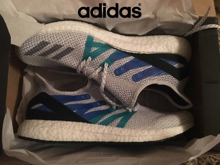 2018 Scarpe Adidas - Grigio Adidas Speedfactory Am4ldn Ultra Boost Londra 115 Us Premio Futurecraft 12 Uk Bcmnoqrt25