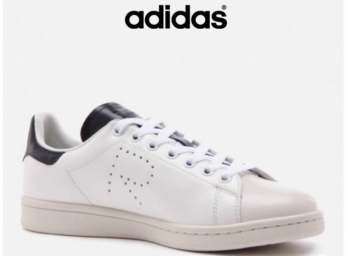 Adidas Scarpe 2018 - Bianco Adidas X Raf Simons Uk Stan Smith 8 Deadstock Applicativo Blmsxy0149